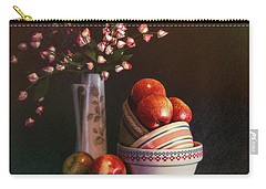 Vintage Bowls With Apples Carry-all Pouch