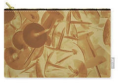 Vintage Business Pins Art Carry-all Pouch