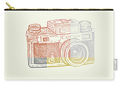 Vintage Camera 2 Carry-all Pouch
