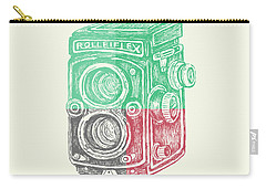 Vintage Camera Color Carry-all Pouch