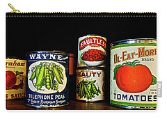 Vintage Canned Vegetables Carry-all Pouch by Joan Reese