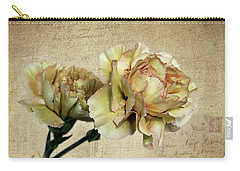 Vintage Carnations Carry-all Pouch