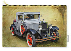 Carry-all Pouch featuring the photograph Vintage Chev by Keith Hawley