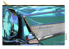 Vintage Chevrolet Belair Carry-all Pouch by The Art of Alice Terrill