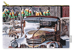 Carry-all Pouch featuring the photograph Vintage Chevrolet by Richard Bean