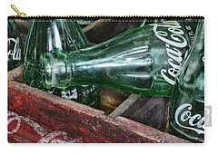 Vintage Coke Square Format Carry-all Pouch