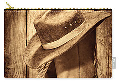 Vintage Cowboy Boots Carry-all Pouch