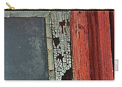 Carry-all Pouch featuring the photograph Vintage Crackle by Ann E Robson