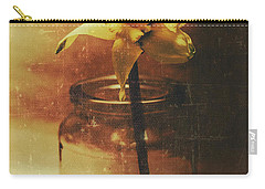 Vintage Daffodil Flower Art Carry-all Pouch