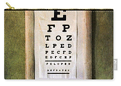 Vintage Eye Chart Carry-all Pouch