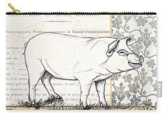 Vintage Farm 2 Carry-all Pouch by Debbie DeWitt
