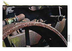 Vintage Farm Tractor Carry-all Pouch by Michelle Calkins