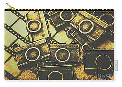 Vintage Film Camera Scene Carry-all Pouch