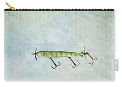 Vintage Fishing Lure Carry-all Pouch by Stephanie Frey