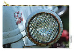 Carry-all Pouch featuring the photograph Vintage Ford by Ann E Robson