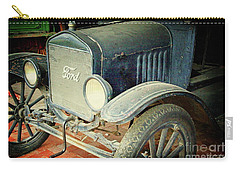 Vintage Ford Carry-all Pouch by Inspirational Photo Creations Audrey Woods