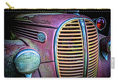 Vintage Ford Firetruck Carry-all Pouch
