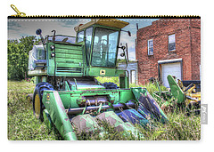 Vintage Four Row Corn Picker Carry-all Pouch