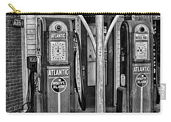 Vintage Gas Station Bw Carry-all Pouch