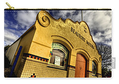 Carry-all Pouch featuring the photograph Vintage Gem by Wayne Sherriff