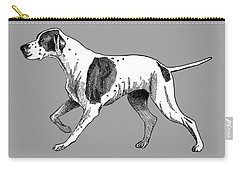 Vintage German Shorthaired Pointer Carry-all Pouch by Marian Cates