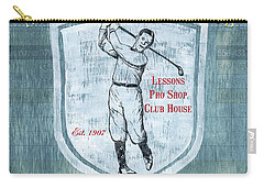 Vintage Golf Blue 1 Carry-all Pouch
