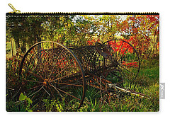 Vintage Hay Rake Carry-all Pouch