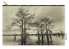 Carry-all Pouch featuring the photograph Vintage Henderson Swamp  by Andy Crawford
