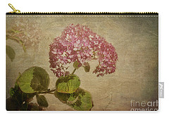 Carry-all Pouch featuring the photograph Vintage Hydrangea by Elaine Teague