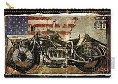 Vintage Motorcycle Unbound Carry-all Pouch