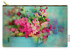 Flowers From A Cottage Garden Carry-all Pouch