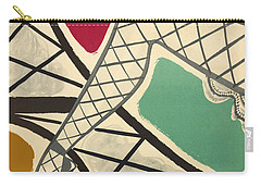Vintage Paris Cabaret Carry-all Pouch by Mindy Sommers