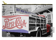 Vintage Pepsi Truck Carry-all Pouch