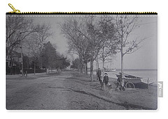 Vintage Photograph 1902 Front Street New Bern Nc Carry-all Pouch