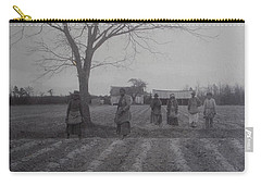 Vintage Photograph 1902 New Bern North Carolina Sharecroppers Carry-all Pouch