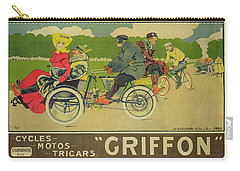 Vintage Poster Bicycle Advertisement Carry-all Pouch by Walter Thor