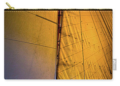 Carry-all Pouch featuring the photograph Vintage Sailboat by David Patterson
