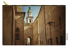 Carry-all Pouch featuring the photograph Vintage Salzburg by Carol Japp