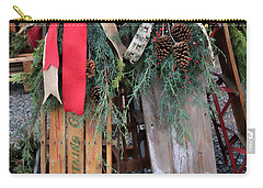 Vintage Sleds Carry-all Pouch
