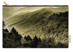 Vintage Smokies Carry-all Pouch by Mike Eingle