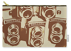Vintage Snapshots And Old Cameras Carry-all Pouch