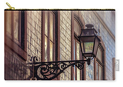 Vintage Street Lamp In Lisbon Portugal  Carry-all Pouch