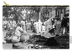 Vintage Street Scene In Ponce - Puerto Rico - C 1899 Carry-all Pouch