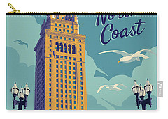 Vintage Style Cleveland Travel Poster Carry-all Pouch