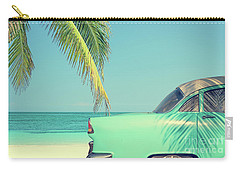 Carry-all Pouch featuring the photograph Vintage Summer by Delphimages Photo Creations