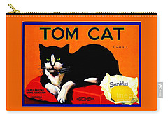 Vintage Sunkist Tom Cat Carry-all Pouch