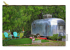 Vintage Trailer Carry-all Pouch
