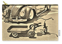 Vintage Transportation Carry-all Pouch