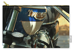 Vintage Triumph  Carry-all Pouch