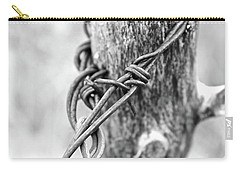 Carry-all Pouch featuring the photograph Vintage Twist by Ann E Robson